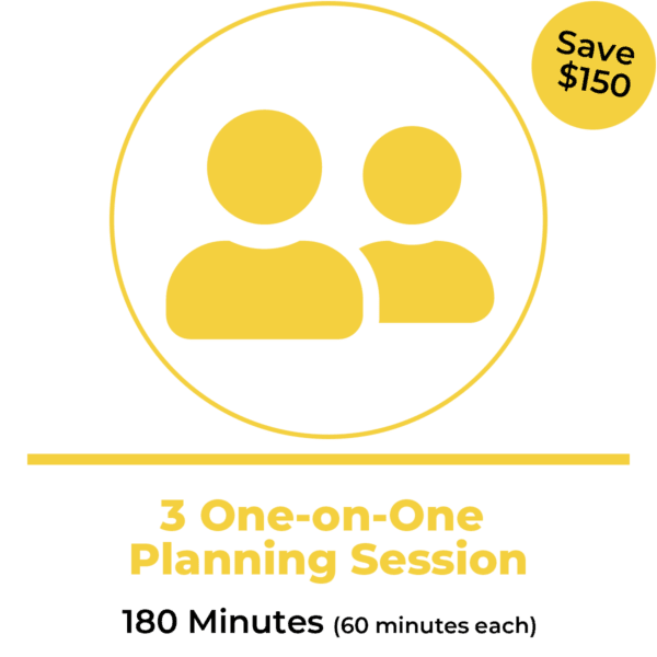 3 One-on-One Planning Sessions